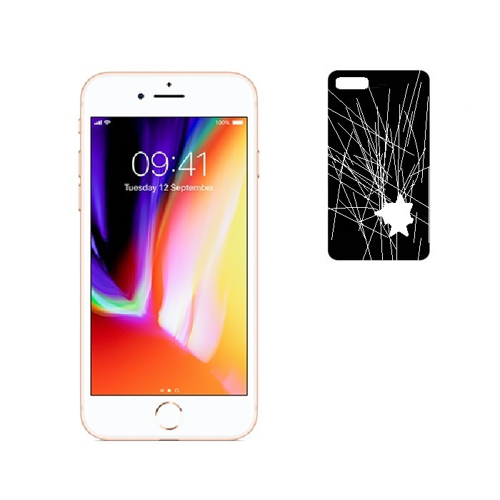 iphone 8 back glass panel repair