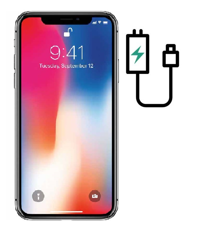 iPhone X charging port repair