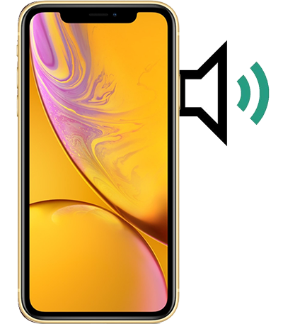 iphone xr mic speaker issues